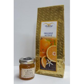 Orange Active 100g  + Orangen Marmelade 40g