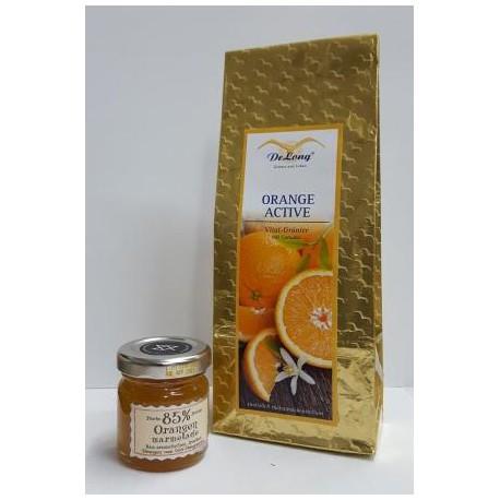 Orange Active 100g  + Orangen Marmelade 40g