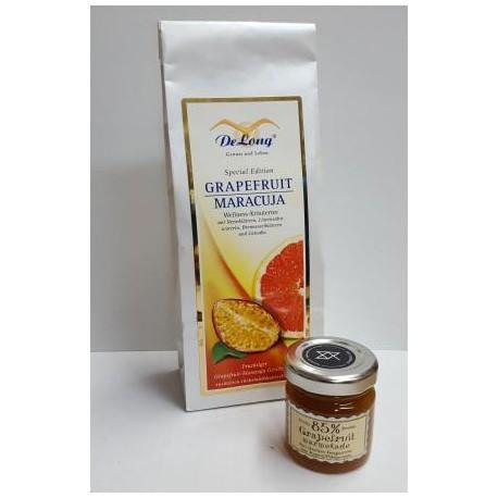 Grapefruit Maracuja 100g + Grapefruit Marmelade 40g