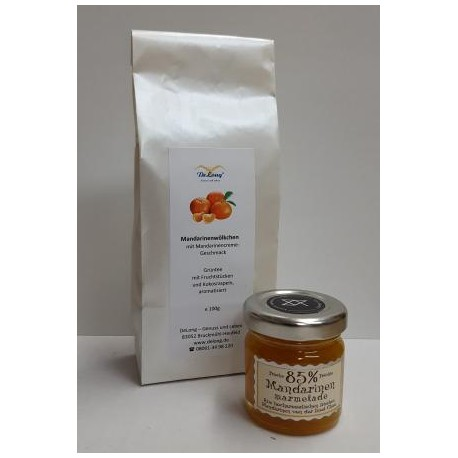 Mandarinenwölkchen 100g + Mandar. Marmelade 40g