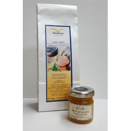 Earl Grey 100g + Bergamotte Marmelade 40g