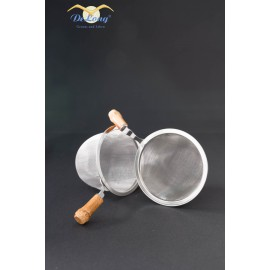 Teefilter mit Bambusgriff