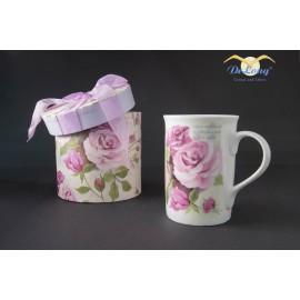 Teetasse Rosengarten