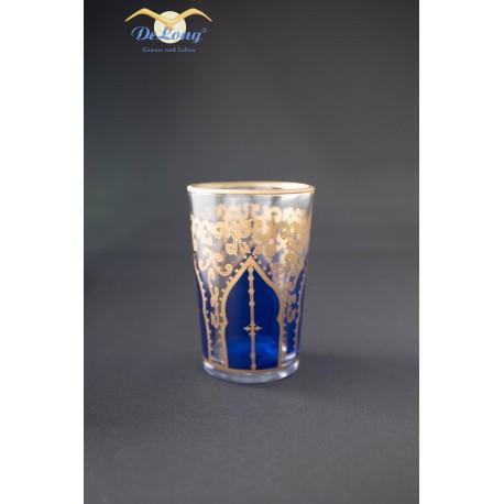 Teeglas Orient Blau