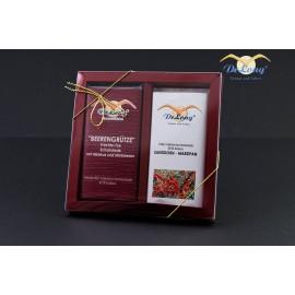 Tee-Schokoladen-Duo im Geschenkpack