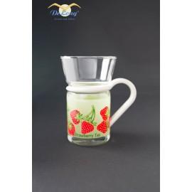 Teeglas Erdbeere 0.2l