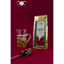 Teeglas Erdbeere + Strawberry Dream 100g