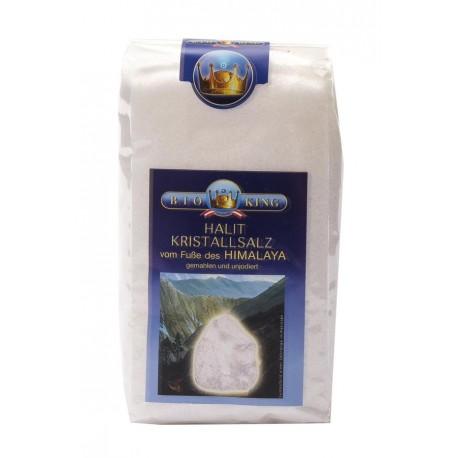 """KRISTALLSALZ """"HALIT"""" aus den Ausläufern des Himalaya, fein gemahlen 500g"""
