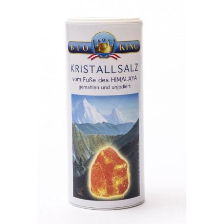 KRISTALLSALZ aus den Ausläufern des Himalaya, Streuer natur 250g
