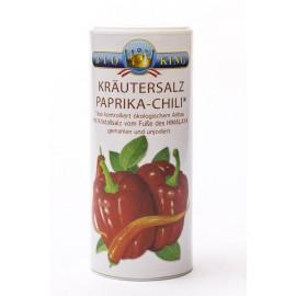 """KRÄUTERSALZ """"Paprika-Chili"""" aus den Ausläufern des Himalaya, Streuer 200g"""