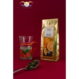 Teeglas Orange 0.2l + Orange Active 100g