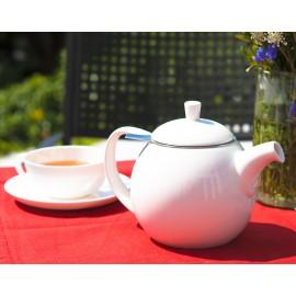 Edle Teekanne aus Porzellan